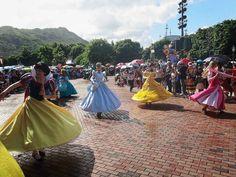 Disney Princesses Hong Kong Disneyland