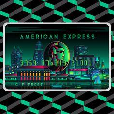 American Express: Card Art • A.H.A. Design
