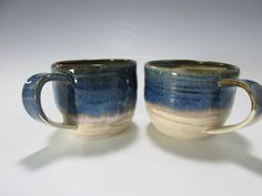 Hey, I found this really awesome Etsy listing at https://www.etsy.com/listing/174925964/pair-of-handmade-stoneware-coffee-or-tea cups and mugs