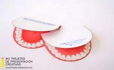 tarjetas de presentacion creativas para odontologos