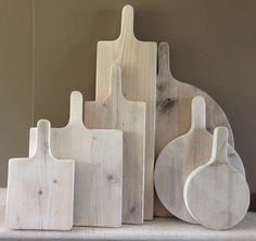 mooi houten brood-snijplanken van steigerhout.