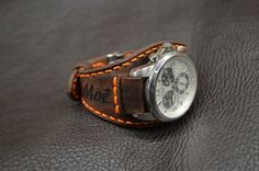 Leather Watches, Armadillo, Leather Projects, Menswear, Accessories, Weapons Guns, Leather Bracelets, Clocks, Clothes