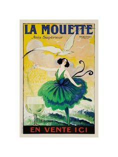 24x30 Paris Grand Prix Flowers Expo 1900 Vintage Style Ad Poster