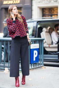 cool Кюлоты женские (50 фото) — С чем носить модные брюки?