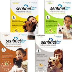 Sentinel is the only oral medication which eliminates and guards against roundworm, hookworm, whipworm, flea eggs and heartworm for dogs. Taken once a month in flavored tablets, Sentinel works by effectively disrupting various life cycle stages for the parasites listed above.