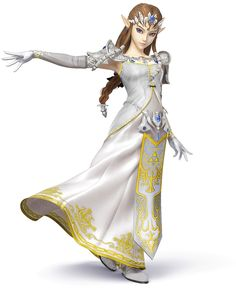 Zelda Color Swap - Characters & Art - Super Smash Bros. for 3DS and Wii U