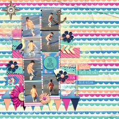 Sea Sight by Sugary Fancy and WendyP Designs  Photo Strips 2 Template by Miss Fish