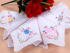 cheap Crochet Lace one Corner Embroidery hankies