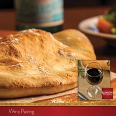 Chef Anthony has a tip for your holiday dining: Bring harmony to your spinach calzone with a glass of full-bodied shiraz with ripe blackberry, raspberries and plum flavors.