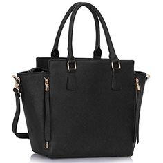cool Ladies Shoulder Bags Womens Large Designer Handbags Tote Shoulder Faux Leather Fashion Bags