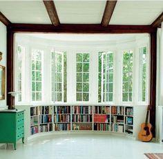 Windows & Bookshelves
