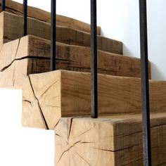 Art of Stairs Stair Railing Ideas art Stairs Wooden Stairs, Wooden Staircases, Stairways, Modern Staircase, Spiral Staircase, Staircase Diy, Interior Stairs, Home Interior Design, Decorating Blogs