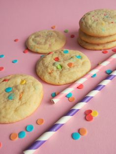 Funfetti Sugar Cookies.