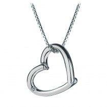 Hot Diamonds Sterling Silver Just Add Love Pendant
