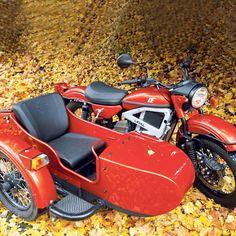 Ural reveals electric sidecar prototype - iMotorbike News Ural Motorcycle, Motorcycle Engine, Sidecar, Motorbikes, Electric, Vehicles, Red, Motorcycles, Car