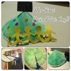 With a little bit of cutting and stapling help from a teacher, kids of all abilities can make this 3D Mount Sinai! They'll love coloring the mountain green and decorating it with stickers.