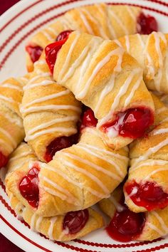 Cherry Almond Turnovers (only 5 ingredients)