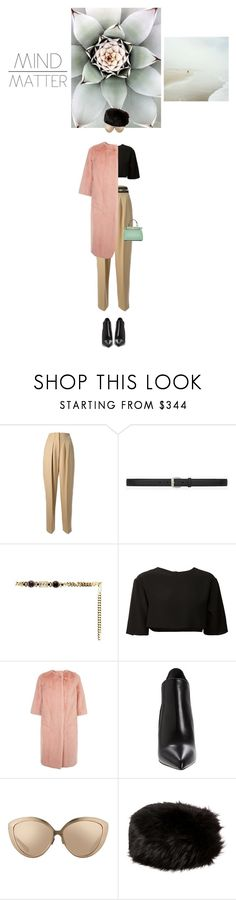 """""""I can deal with it..."""" by teofilo-fradizela ❤ liked on Polyvore featuring Børn, 3.1 Phillip Lim, Yves Saint Laurent, Alessandra Rich, FAUSTO PUGLISI, Dolce&Gabbana, Linda Farrow, Burberry and Fendi"""