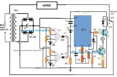 Mains High Low Voltage Protection Circuit with Delay Monitor