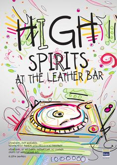 high spirit poster by smudge