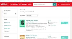 Scandinavian's largest online #bookstore Adlibris added Klaava Media #ebooks into its selection