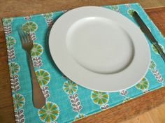 How to sew placemats tutorial