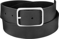 7 For All Mankind-Modern Belt Black Leather Belt, Leather Belts, Dress Belts, Men Looks, Belted Dress, Skechers, On Shoes, Clarks, Uggs