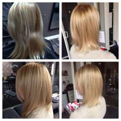 warm blonde highlights by me - Color Refreshing Gloss