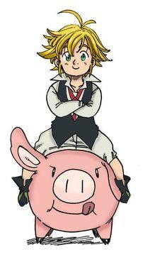 Nanatsu no Taizai Seven Deadly Sins - Anime Thing Seven Deadly Sins Anime, 7 Deadly Sins, Otaku Anime, Manga Anime, Madara Wallpaper, Chibi, Seven Deady Sins, Kamigami No Asobi, 7 Sins