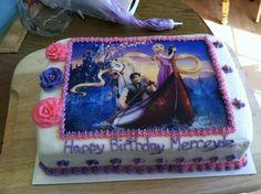 Rapunzel Tangled Birthday Cake
