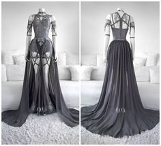 39 Ideas For Sweatshirt Fashion Design Grey Fashion Mode, Dark Fashion, Gothic Fashion, Fashion Outfits, Beautiful Outfits, Cool Outfits, Design Textile, Nice Dresses, Formal Dresses