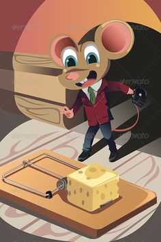 Business Concept  #GraphicRiver         A vector illustration of a business concept of a mouse dressed in a business suit facing a trap. Vector illustration, zip archive contain eps 10 and high resolution jpeg.                     Created: 11 December 13                    Graphics Files Included:   Vector EPS                   Layered:   No                   Minimum Adobe CS Version:   CS             Tags      animal #business #business concept #businessman #cartoon #catch #challenge…