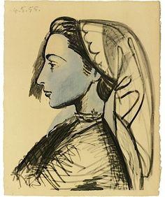 Pablo Picasso, LA FLUTE DOUBLE; L'Homme au mouton