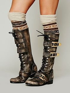 Kantell Lace Up Boot I'm crying inside because I know I will never be able to own these:/