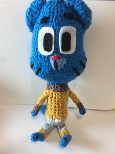 Un favorito personal de mi tienda Etsy https://www.etsy.com/ie/listing/241866113/gumball-crochet-toy-the-amazing-world-of