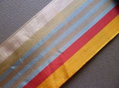 Antique French silk  ribbon Trim  Pasamaneria por ElTallerAnaGaspar