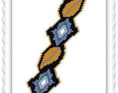 BP-GEO-060 By His Power Brick Stitch Bracelet от TrinityDJ