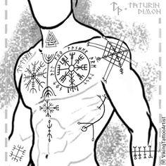 Geometric pink poster romantic spring banner background – Graffiti World Viking Tattoo Sleeve, Viking Tattoo Symbol, Norse Tattoo, Celtic Tattoos, Viking Tattoos, Tribal Tattoos, Body Art Tattoos, Sleeve Tattoos, Belly Tattoos