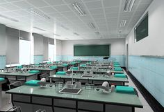 School Design | Educational Spaces | high school lab