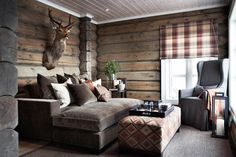 the Best of Ski Chalet Interiors & Design Cabin Homes, Log Homes, Interior Exterior, Interior Design, Kitchen Interior, Lodge Style, Chalet Style, Cabins And Cottages, Deco Design