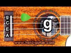 Best Online Ukulele Tuner Standard Tuning G C E A Island Tuning Youtube Ukulele Tuner Ukulele Lesson Ukulele
