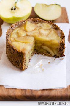 Apfel-Mandel-Küchlein [vegan & glutenfrei] www.gruenemixtion.de