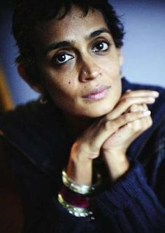 Arundhati Roy is my political crush <3 A conscious, South Asian woman with striking features and a bold voice.