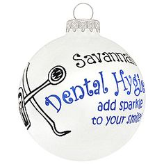 Dental Hygienists add sparkle to your smile.  :)