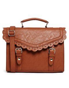 Enlarge ASOS Vintage Style Punchout Satchel Bag