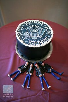 Best. Groomscake. Ever.   Gabba Gabba Hey by Lipstckchick715, via Flickr