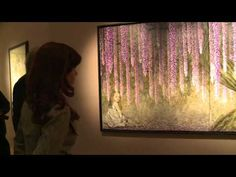 """CFK recorrió la muestra """"La mirada interior"""", del artista plástico Eugenio Cuttica, en el Museo de Bellas Artes, expuesta hasta éste domingo (14/06) con entrada libre y gratuita."""