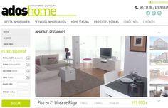 oficina de adoshome, servicios inmobiliarios Zarautz. Plan de comunicación online para agencias inmobiliarias Home Staging, Cabinet, Storage, Furniture, Home Decor, Shop Displays, Offices, Flats, Tecnologia