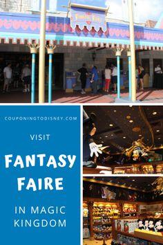 Fantasy Faire In Magic Kingdom