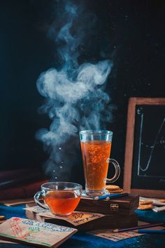 Improve your tabletop and food photography! Learn how to capture clouds of steam over coffee.